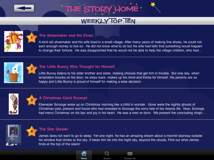 The Story Home - Children's Audio Stories- For iPad screenshot-3