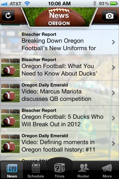Oregon Ducks Football News, Trivia and More