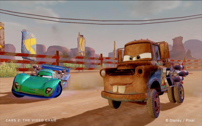 Screenshot #3 pour Cars 2: The Video Game