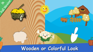 Farm Puzzle for Babies Free: Move Cartoon Images and Listen Sounds of Animals or Vehicles with Best Jigsaw Game and Top Fun for Kids, Toddlers and Preschool screenshot four