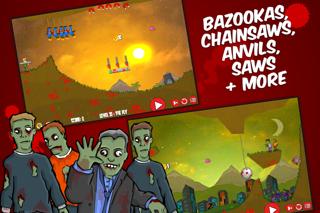 Flaming Zombooka screenshot three
