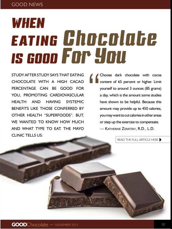 GoodChocolate screenshot-4