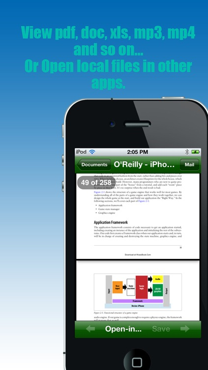 "Bluetooth - ""Transfer photos & files via bluetooth (For iPhone, iPod & iPad)"" screenshot-4"