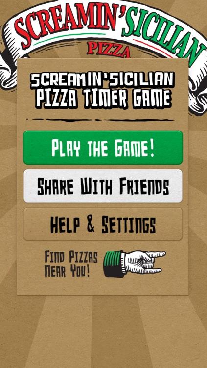 Screamin' Sicilian Pizza Timer Game