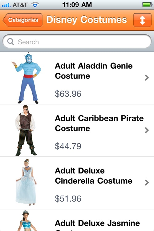 Halloween Costume Catalog