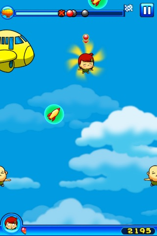 Crazy Parachute screenshot-2