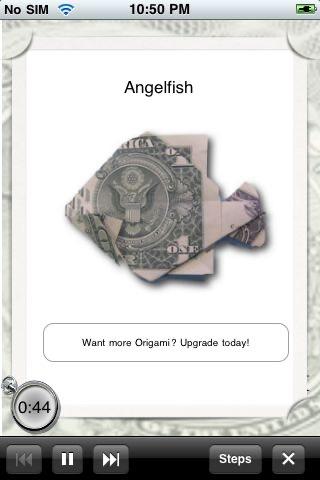 Dollar Origami Lite screenshot-3