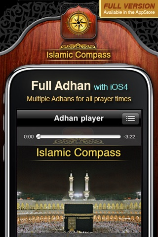 Islamic Compass Free - Prayer Times and Adhan Alarm