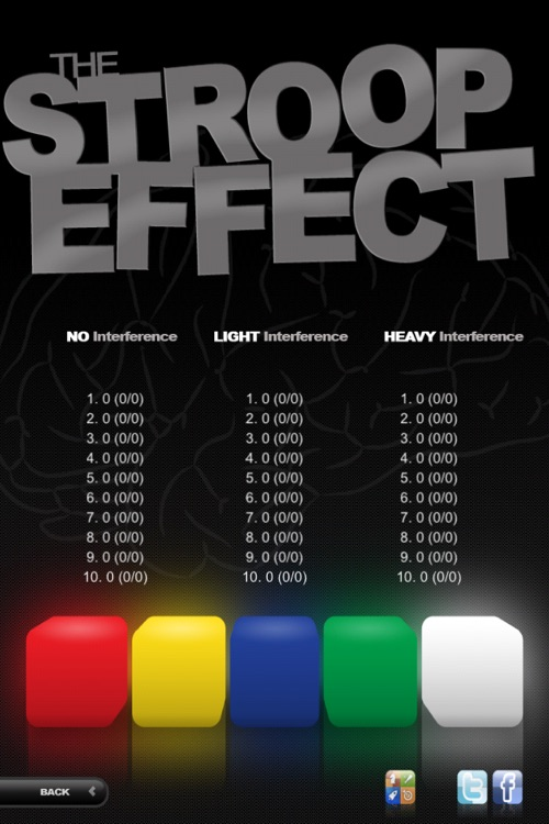 The Stroop Effect screenshot-3