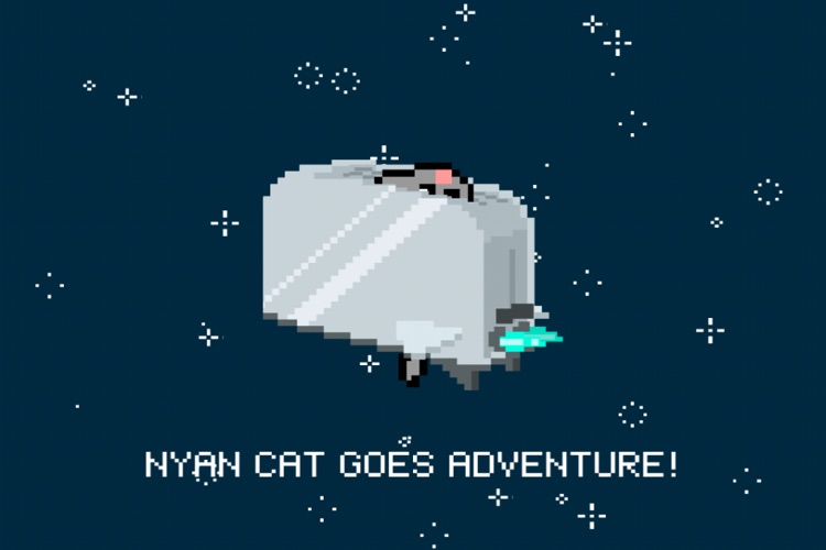 Nyan Cat Adventure Lite screenshot-3