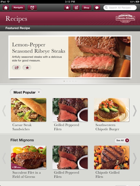 Omaha Steaks Steak Time HD