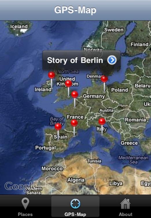 Cities of Europe - Giracittà Audioguide screenshot-4