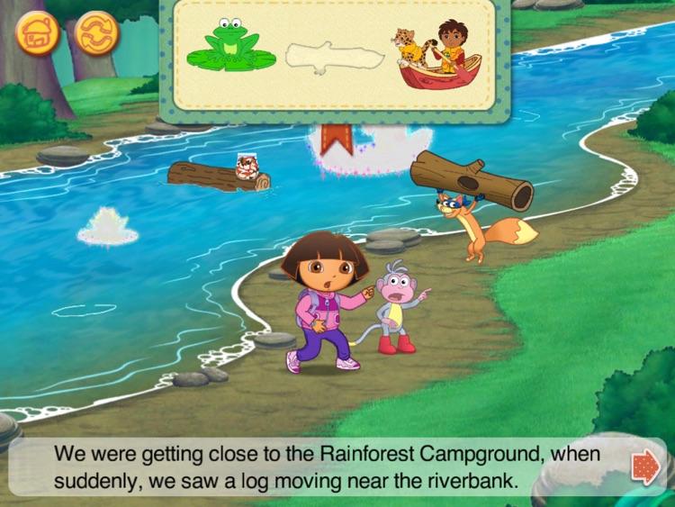 Dora & Diego s Vacation Adventure HD screenshot-3