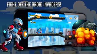 Droid Warfare Man: Jetpack Resistance Enforcement Divisionのおすすめ画像1