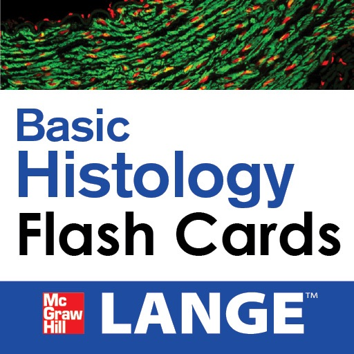 Basic Histology LANGE Flash Cards