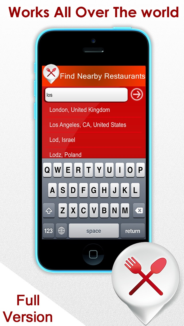 Nearby restaurants finder - Find where the best places to eat near my current location and more Screenshot
