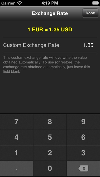 ConvertMe - Currency and Units Conversion Calculator screenshot-3
