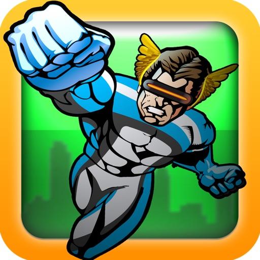 A Superhero Action Man Runner : Escape the Super Villains! - Free Version