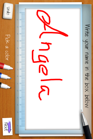 Your handwriting personality: calligraphy analyzer screenshot two