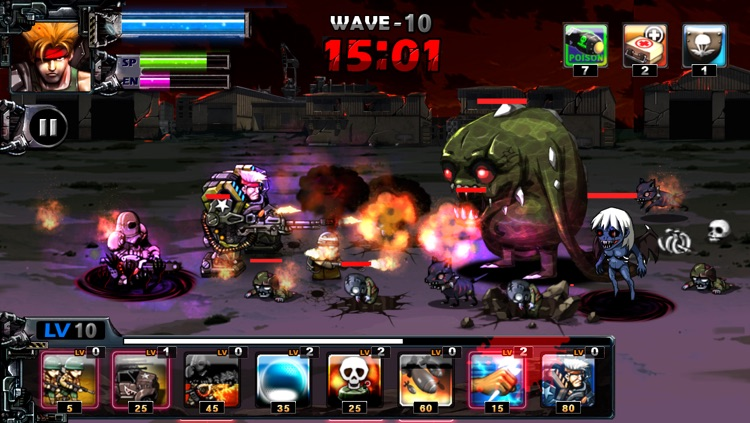 ARMY VS ZOMBIE screenshot-0