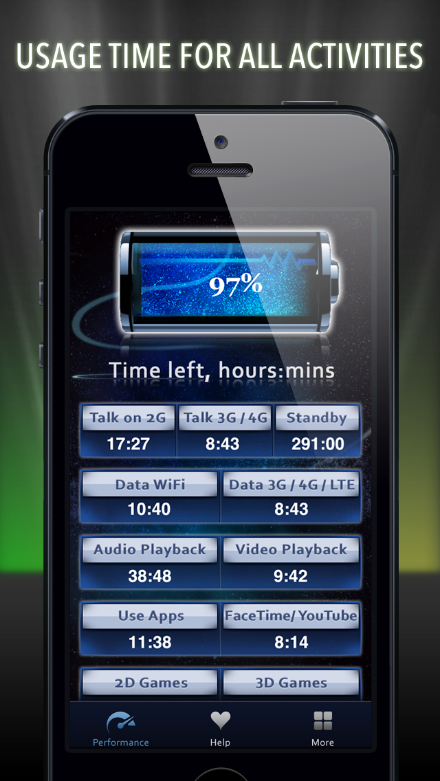Battery Life Magic, free Screenshot