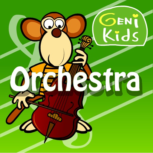 Genikids Orchestra for iPad icon