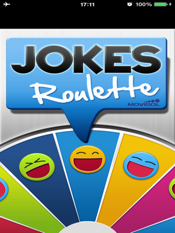 Jokes Roulette: Find out the funniest humour app screenshot