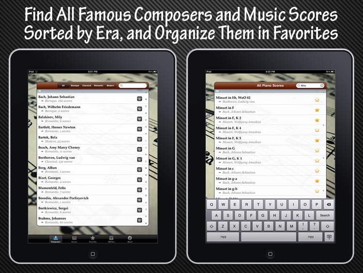 Piano Music Scores screenshot-1