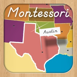 Montessori Approach To Geography HD - United States Capitals