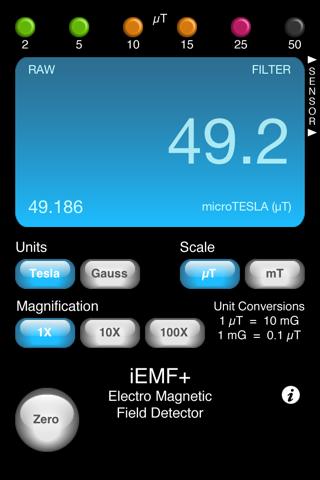 iEMF+ - náhled