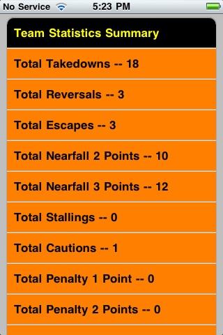 Quick Stats for Wrestling screenshot-4