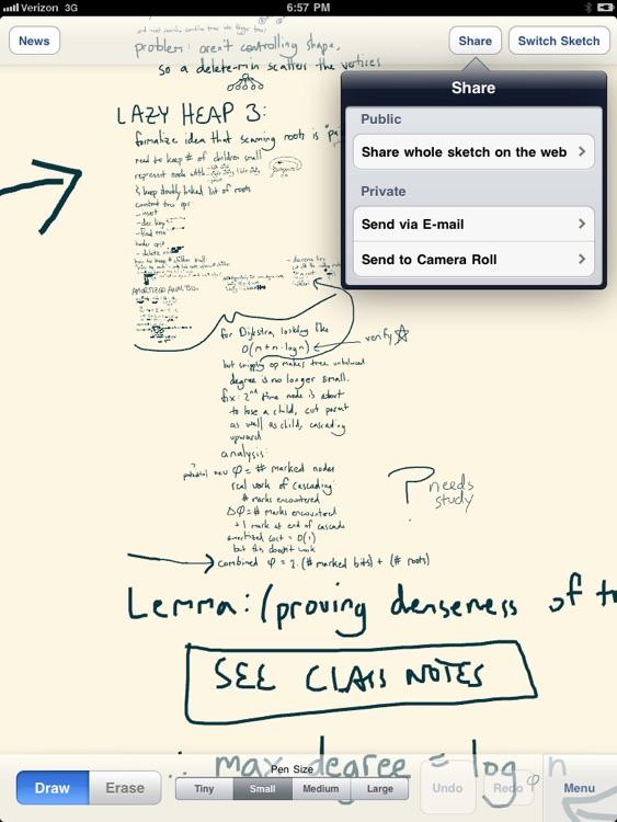 Infinite Sketchpad