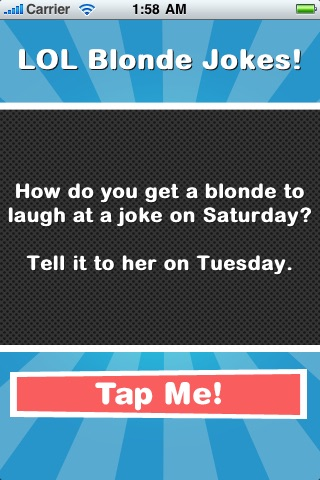 LOL Blonde Jokes! (Free)