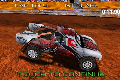 Pro Truck Rally Lite screenshot-2