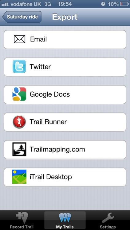 iTrail screenshot-3