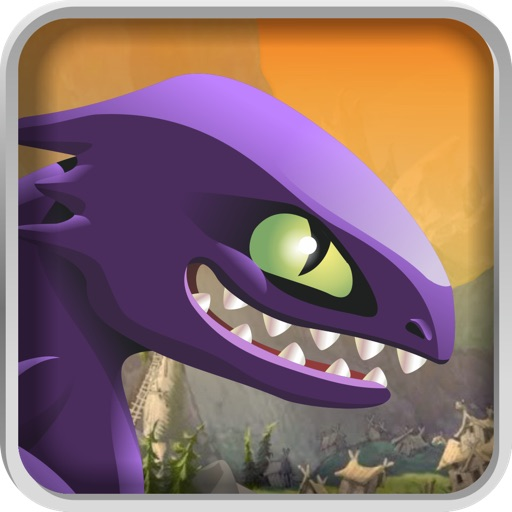 Dragon War Racing Game - Race against Thrones of Vikings