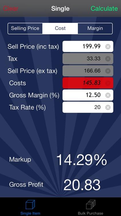 Margin Calc Pro screenshot-3