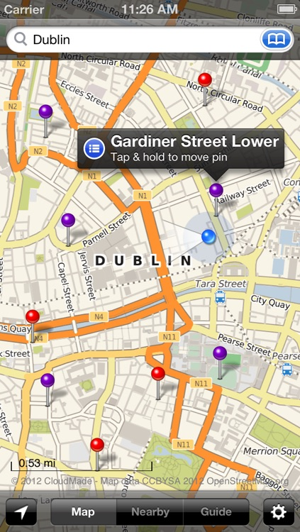 Smart Maps - Dublin