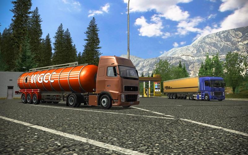Euro Truck Simulator скриншот программы 1