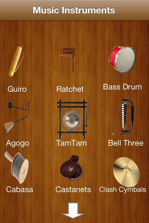 Shake Music instruments