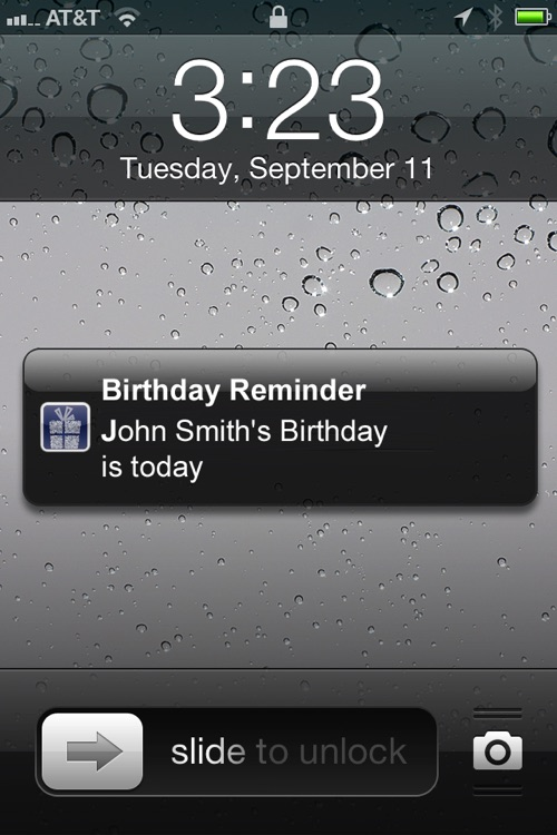 Birthday Calendar with Easy Reminders screenshot-1