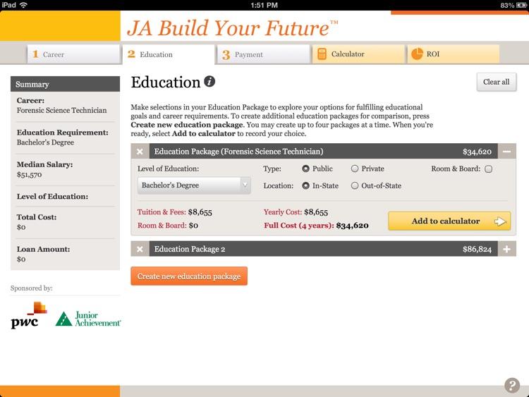 JA Build Your Future™ for iPad