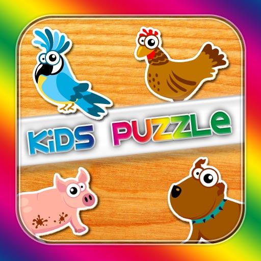 Kids Puzzle (Wooden Animals 2)