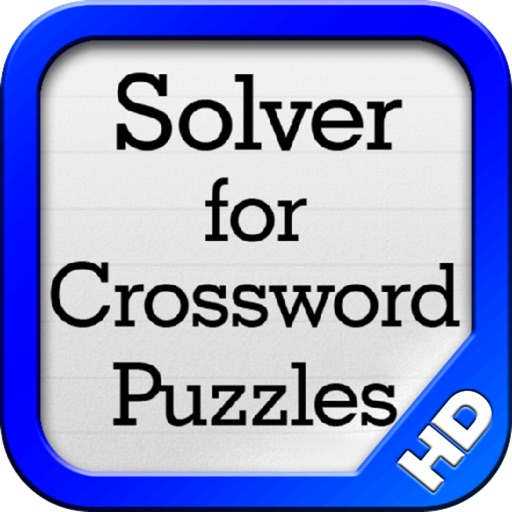 Solver for Crossword Puzzles HD
