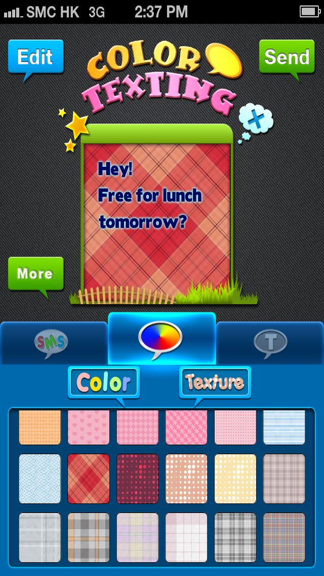 Color & Fonts for Messages Free
