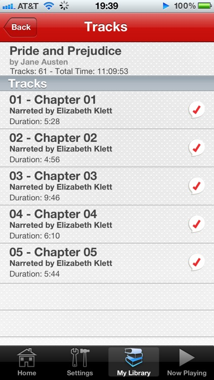 Audiobooks - Austen screenshot-3