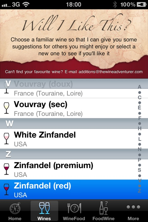 Wine Navigator® Plus screenshot-1