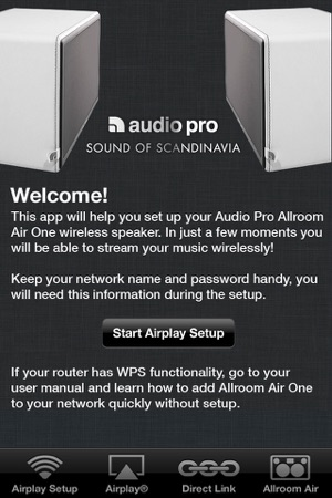Audio Pro Air on the App Store