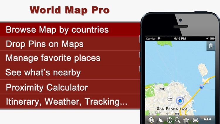 World Map Pro Plus screenshot-0