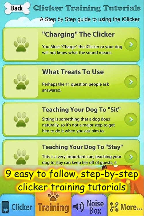 iClicker - Free Dog Training Clicker